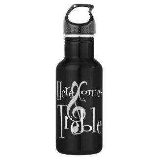Treble Dark Water Bottle 532 Ml Water Bottle