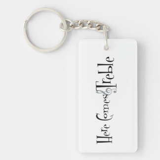 Treble Key Chain