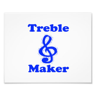 treble maker clef blue music design photograph