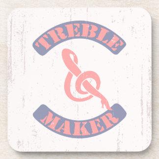 Treble Maker Drink Coasters