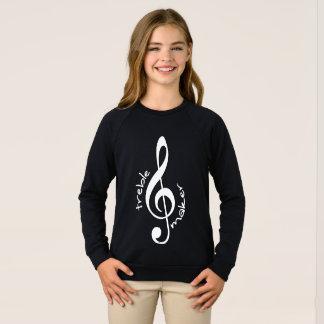 Treble Maker Girl's Raglan Sweatshirt