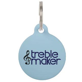 Treble Maker Pet ID Tag
