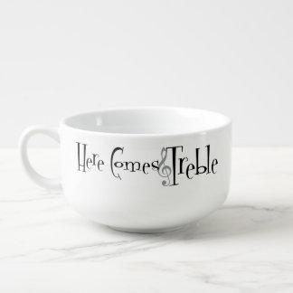 Treble Soup Mug