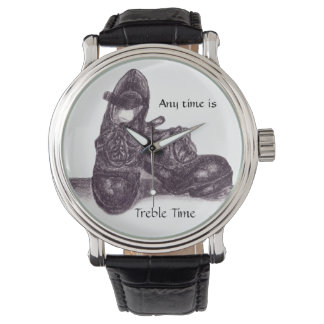 Treble Time Wristwatch