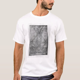 Trebuchet, machine to throw arrows T-Shirt