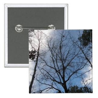 Tree 15 Cm Square Badge