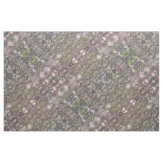 Tree 2 - Moss on Bark Fabric