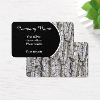 Tree 5 - Oak Tree Bark Business Card