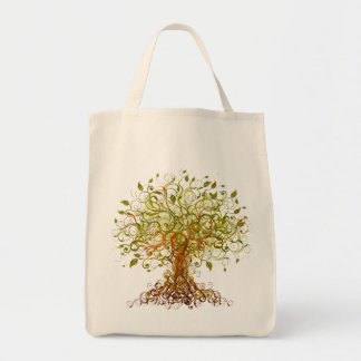 Tree - Abstract 3 Tote Bag
