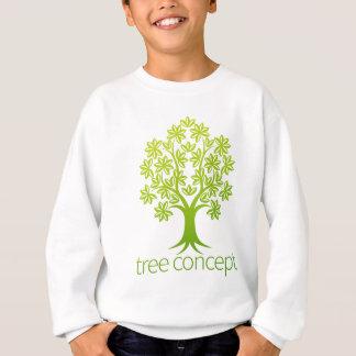 Tree Abstract Concept Sweatshirt