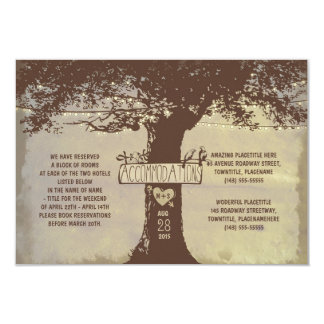 Tree Accommodations Card