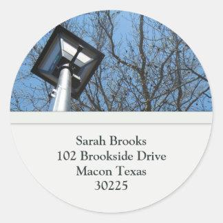 Tree Address Labels Sticker