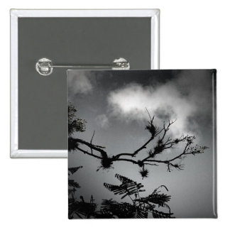 Tree Against the Sky Pinback Buttons