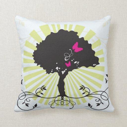 Tree American MoJo Pillow