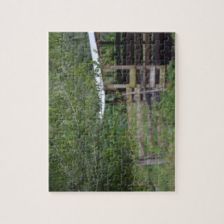 tree and old barn florida photo jigsaw puzzle
