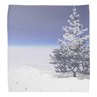 tree and snow white bandana
