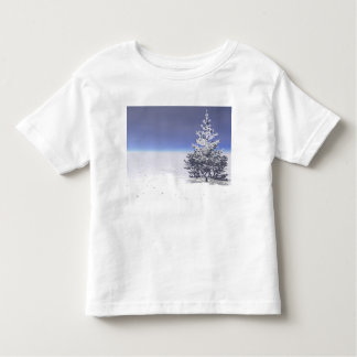 tree and snow white toddler T-Shirt