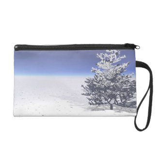 tree and snow white wristlet