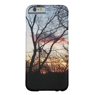 Tree and Sundown Barely There iPhone 6 Case