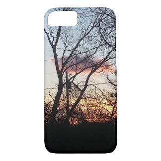 Tree and Sundown iPhone 7 Case