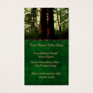 Tree Art Business Card