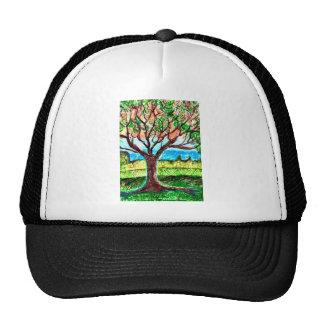 Tree Art Cap