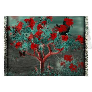Tree Art Card