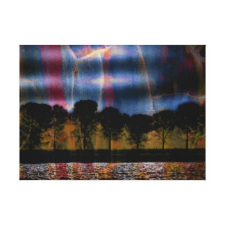 Tree Art Dancing Sky Gallery Wrapped Canvas