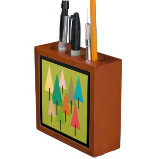 Tree Art Impression Desk Organiser