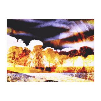 Tree Art Thunder Delight Canvas Prints