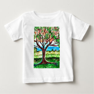 Tree Art Tee Shirt
