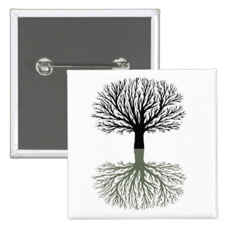 Tree Pinback Buttons