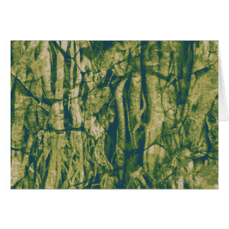 Tree bark camouflage pattern card