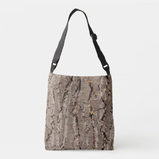 Tree Bark Cross Body Bag