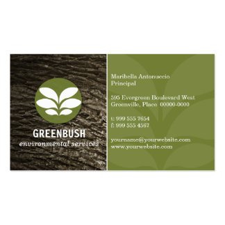 Tree Bark Environmental Business Card