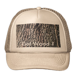 Tree Bark, Got Wood ? Cap