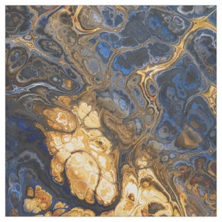 Tree Bark Marbled Abstract 2 Fabric