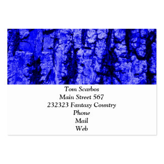 tree bark structure,blue business card