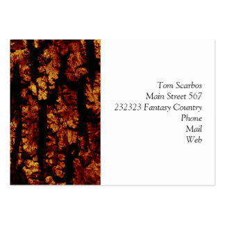 tree bark structure, brown business cards