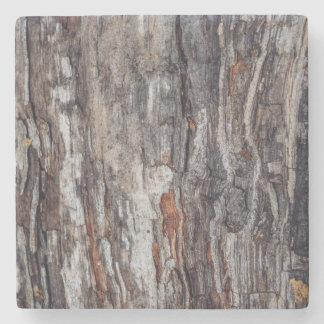 Tree Bark Texture Stone Coaster