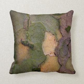 Tree bark throw pillow throw cushions
