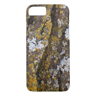Tree Bark With Lichens iPhone 7 Case