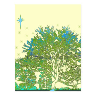 Tree Blues Postcard