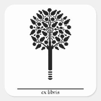 Tree Bookplate Stickers