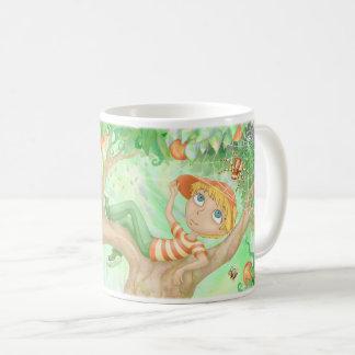 Tree Boy and Spider Coffee Mug