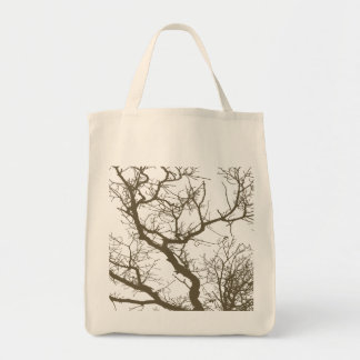 Tree Branch Tote Bags