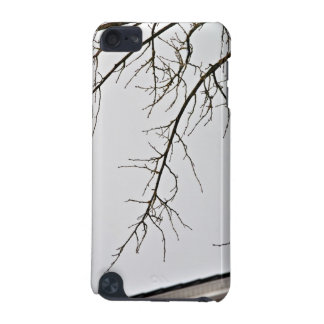 Tree Branch without leaves against cloudy sky iPod Touch (5th Generation) Cover