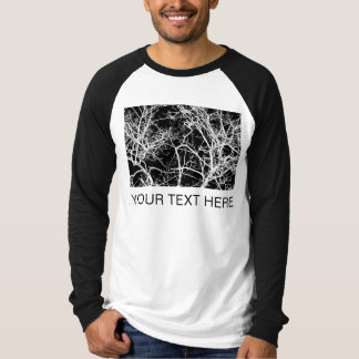 Tree Branches - Black Logic T-Shirt