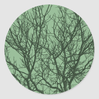 Tree Branches - Green Stickers