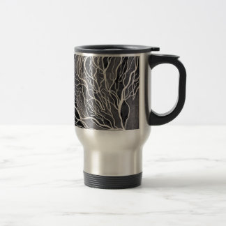 Tree Branches 15 Oz Stainless Steel Travel Mug